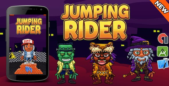 Top Trading Game + Jumping Rider + Ready For Publish + Android & IOS