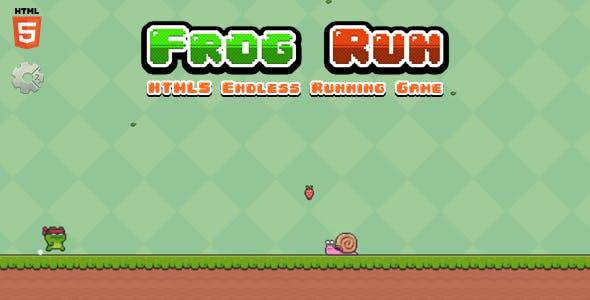 Frog Run - Html5 Game