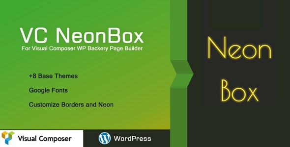 VC Neon Box - Nice Fonts & Effects for WPBakery Page Builder - CodeCanyon Item for Sale