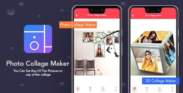 Photo Collage Maker - iOS Photo Editor (Objective-C) : Admob, In App Purchase Ready