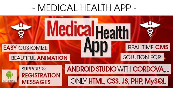 Medical Health Appointment & Booking App With CMS - Android [ 2021 Edition ]