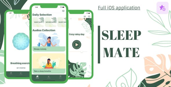 Sleep Mate - Full iOS Application