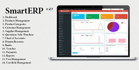 SmartERP - Business ERP Solution / Product / Shop / Company Management