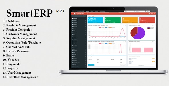 SmartERP - Business ERP Solution / Product / Shop / Company Management - CodeCanyon Item for Sale