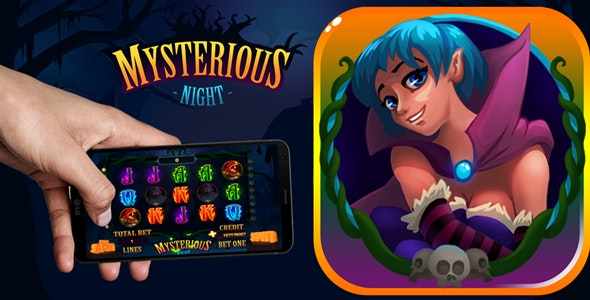 Mysterious Night Slot Machine - CodeCanyon Item for Sale