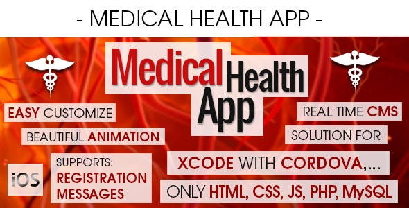 Medical Health Appointment & Booking App With CMS - iOS [ 2021 Edition ]