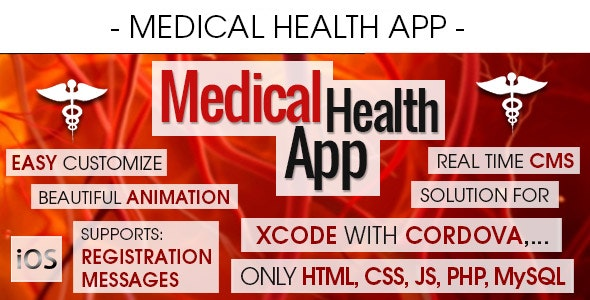 Medical Health Appointment & Booking App With CMS - iOS - CodeCanyon Item for Sale