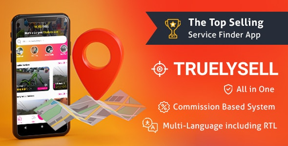 TruelySell v1.1.0 – On-demand Service Marketplace, Nearby Service Finder and Bookings Web, Android and iOS