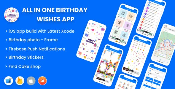 All in One Birthday Wishes -  iPhone Application