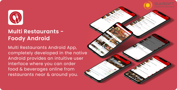 Multi Restaurants - Foody Android - CodeCanyon Item for Sale
