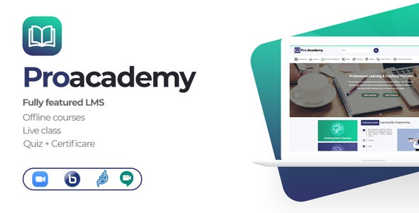 Proacademy 2 - LMS & Live Classes Marketplace - CodeCanyon Item for Sale