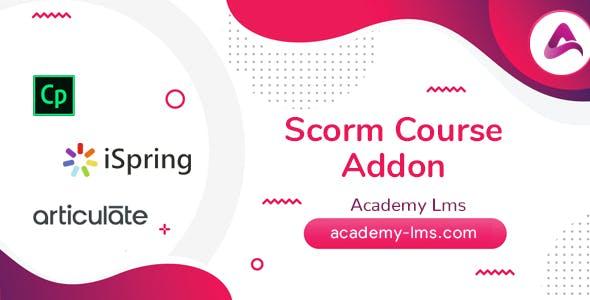 Academy LMS Scorm Course Addon
