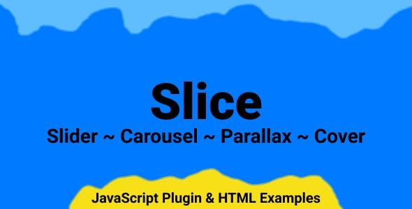 Slice - Responsive jQuery Slider, Carousel and Parallax Plugin