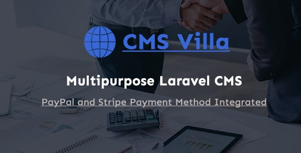 CMS Villa - Multipurpose Laravel Business Website - CodeCanyon Item for Sale