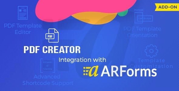 Pdf creator for Arforms