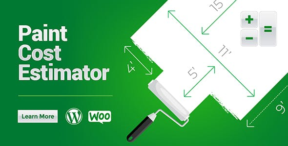 Woocommerce Paint Cost Estimator