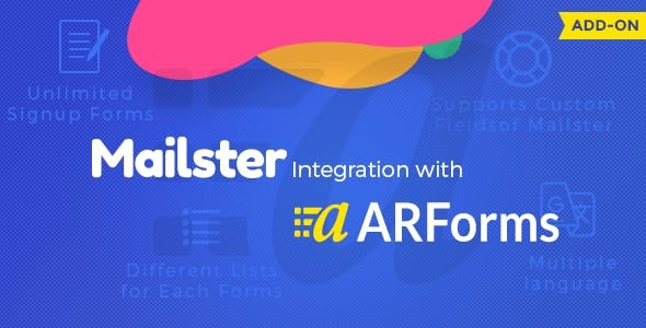 Mailster Integration with Arforms - CodeCanyon Item for Sale