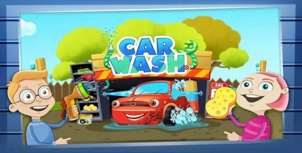 Car Wash Salon Game Unity project