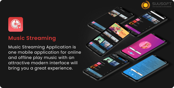 Music Streaming Android, IOS App