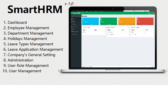 SmartHRM - Human Resource Management System