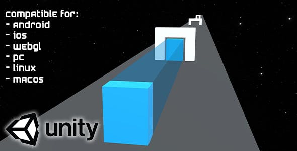 Shift The Shape (Unity Complete Project) - endless hyper casual puzzle 3D game