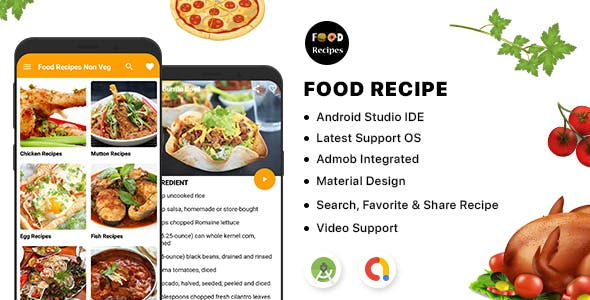 Food Recipe - Android App