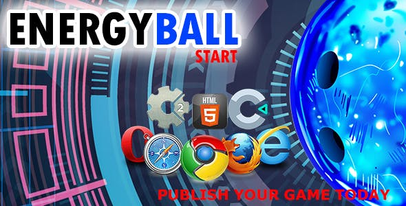 Energy Ball-    HTML5 Construct 2 and Construct 3