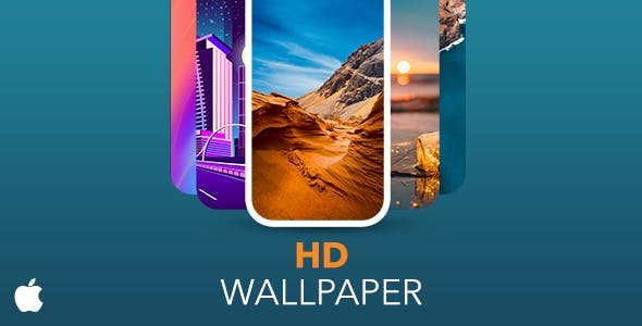 HD Wallpaper Template for iOS with PHP CMS Admin Panel