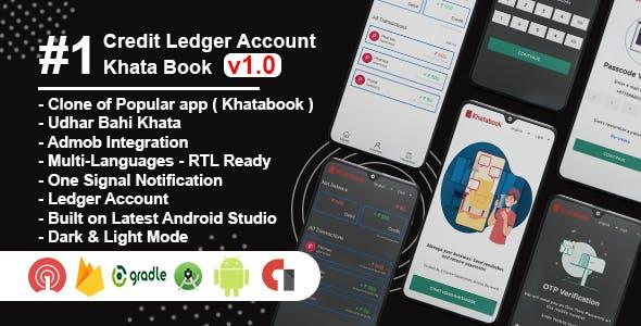 Khata Book Clone - Udhar Bahi Khata, Credit Ledger Account