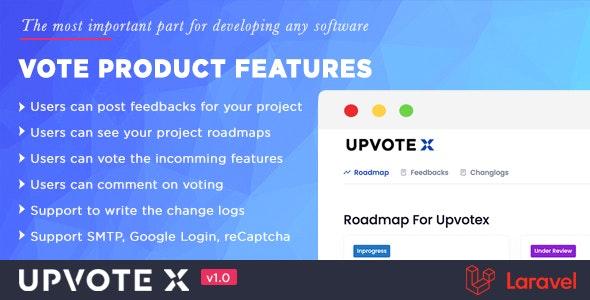 Customer Feedback Management   UpvoteX - CodeCanyon Item for Sale