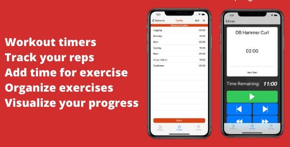 Fitness Tracker, Workout Timer