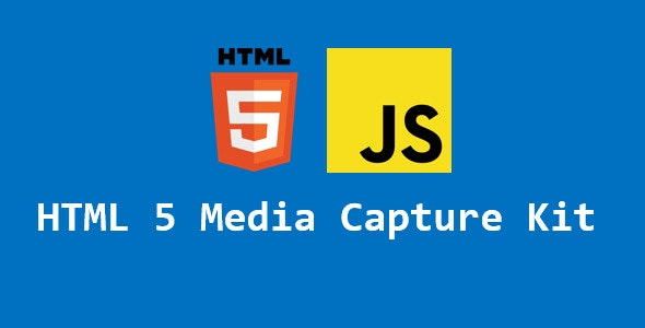 HTML 5 Media Capture Kit - CodeCanyon Item for Sale