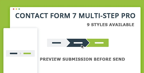 Contact Form 7 Multi-Step Pro - Preview Submission - CodeCanyon Item for Sale