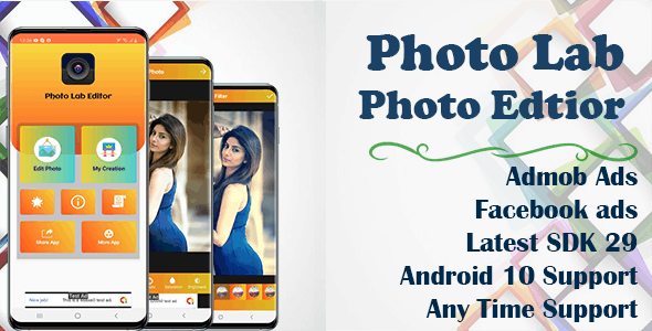Photo Lab Photo Editor (SDK 29 and Android 10 supported)