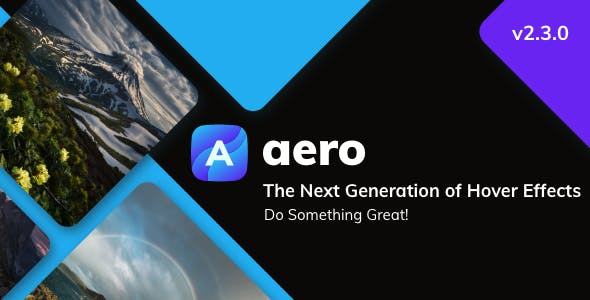Aero - Image Hover Effects