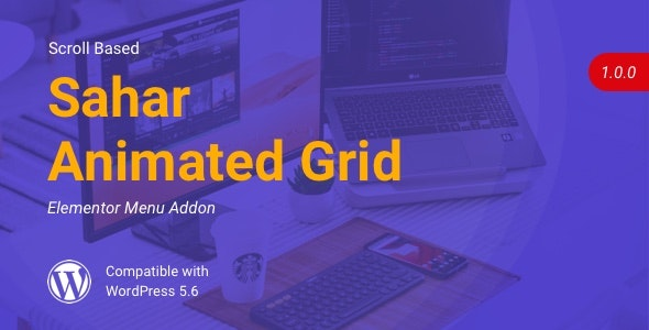 Sahar Animated Grid | Elementor Image Grid - CodeCanyon Item for Sale