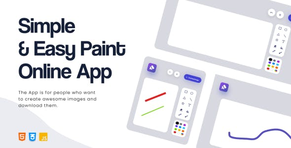 Simple & Easy Paint Online App