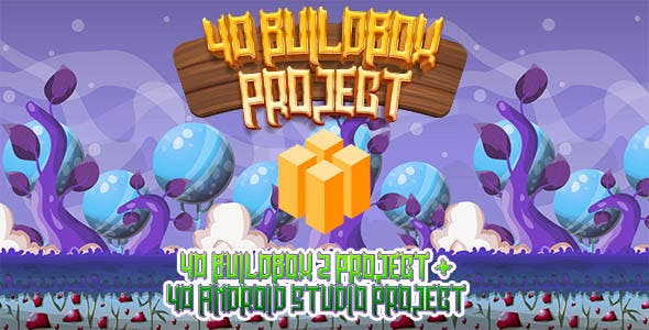 Hobiron 40 Buildbox 2 Project Bundles + 40 Android Studio Source Code