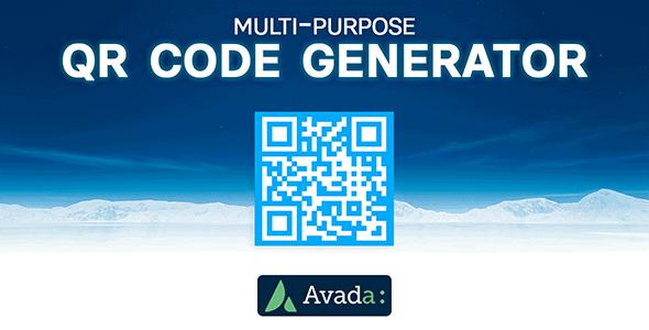 Avada Builder - Multi-Purpose QR Code Generator for Avada Live (v7+)