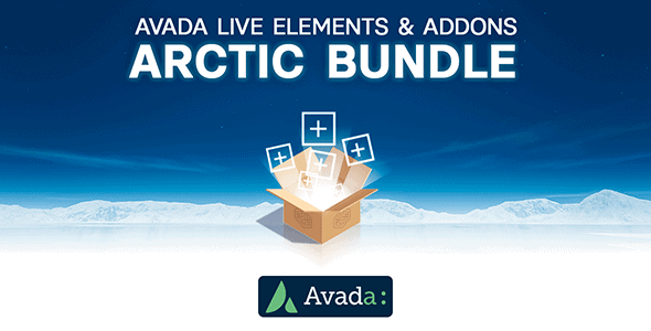 Avada Builder - Arctic Bundle of Elements & Add-ons for Avada Live (v7+) - CodeCanyon Item for Sale