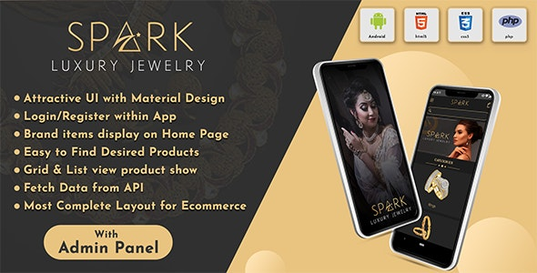 Android App Jewellery Online Shopping App with Admin Panel ( eCommerce Android App) - CodeCanyon Item for Sale