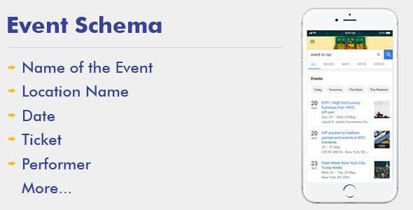 Event Schema For WordPress