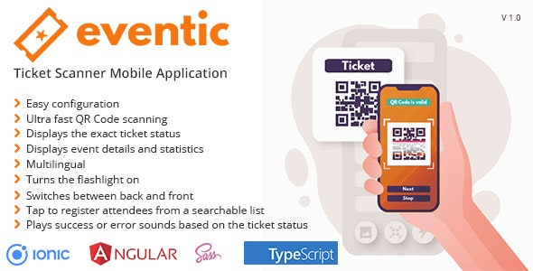 Eventic - Ticket Scanner Mobile Application