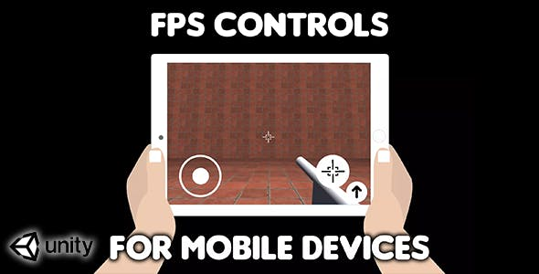 FPS Controls for mobile devices (Unity Source Code) - easy first person shooter virtual controls