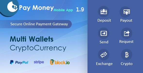 PayMoney - Mobile App - CodeCanyon Item for Sale