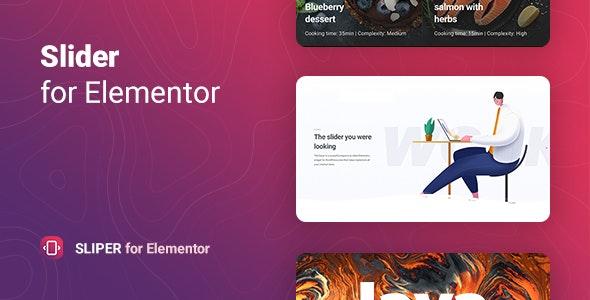 Sliper – Full-screen Slider for Elementor - CodeCanyon Item for Sale