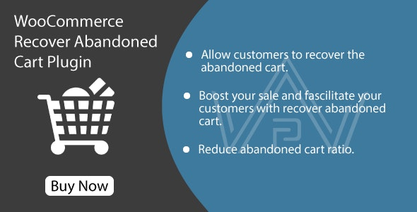 WooCommerce Recover Abandoned Cart Plugin - CodeCanyon Item for Sale
