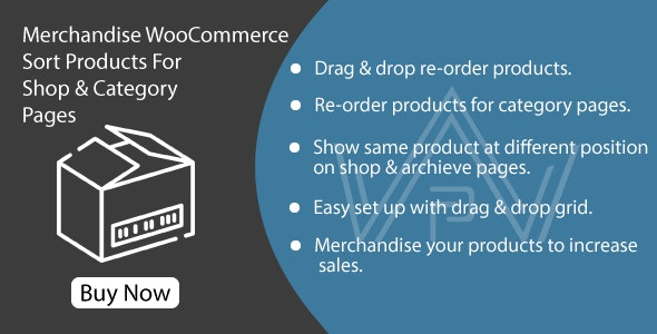 Merchandise WooCommerce - Sort Products For Shop & Category Pages - CodeCanyon Item for Sale