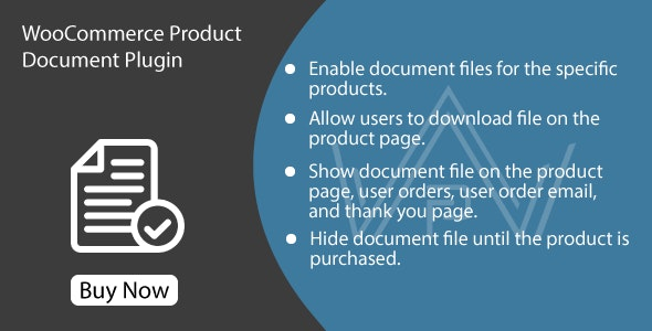 WooCommerce Product Document Plugin - CodeCanyon Item for Sale