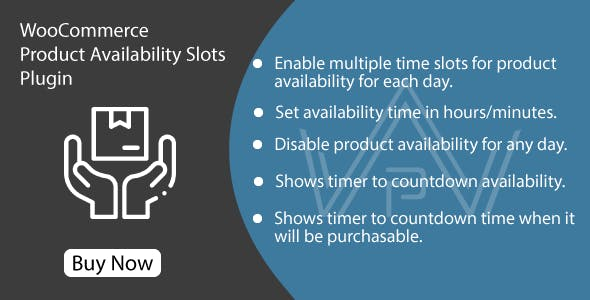WooCommerce Product Availability Slots Plugin